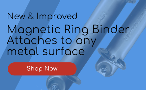 Magnetic Ring Binder - Shop Now